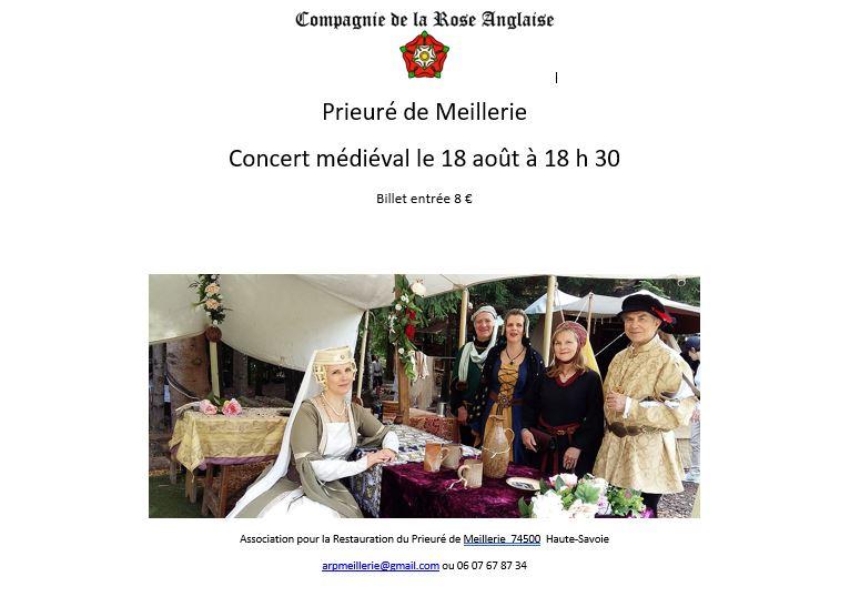 2018 concert medieval