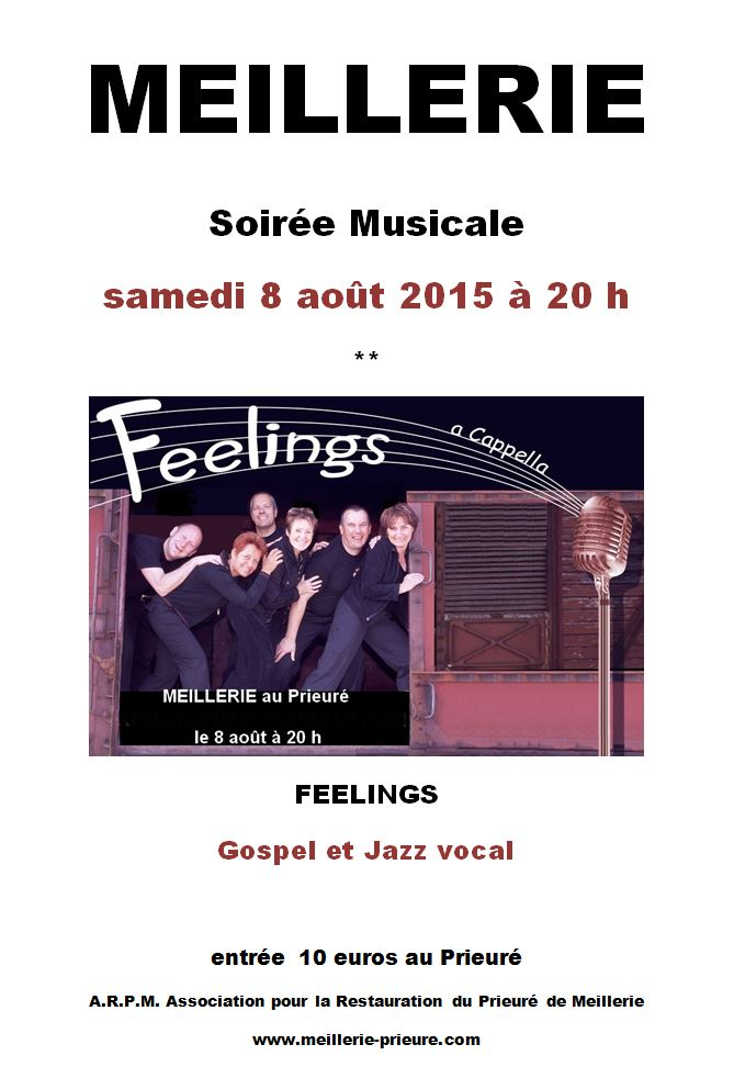Feelings 8 aout 2015