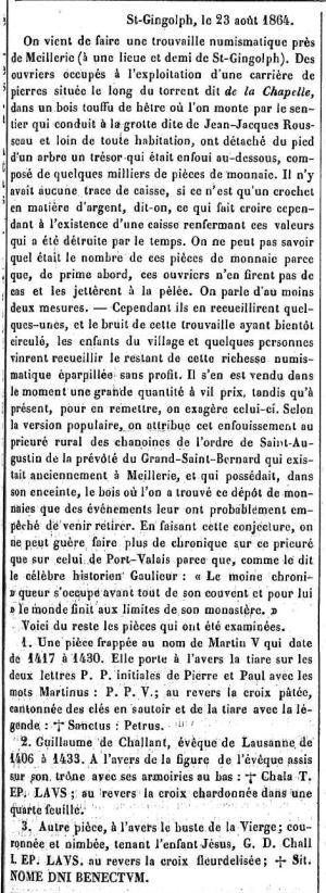 Trésor de Meillerie 1864 a